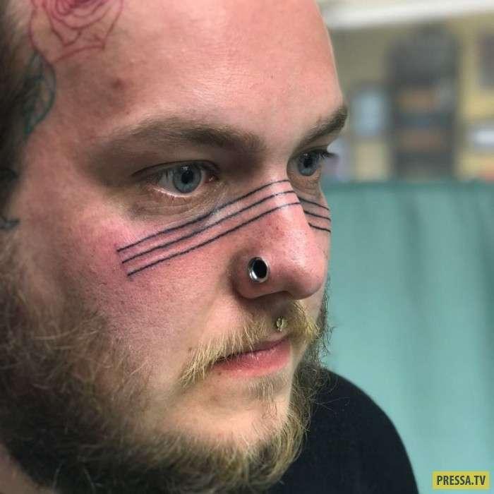 Татуировки на носу становятся все популярнее (14 фото)