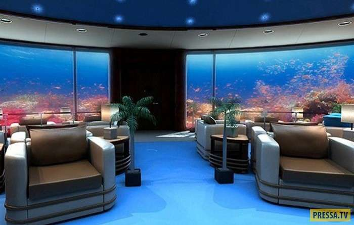 """""""Poseidon Undersea Resort"""" - необычный отель под водой (6 фото)"""