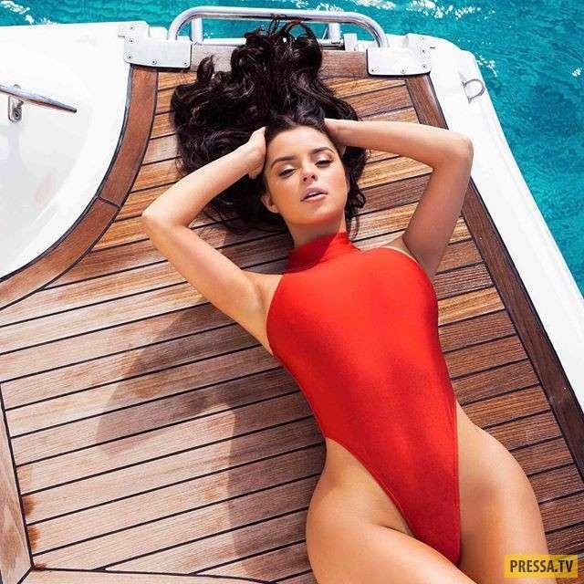 Звезда Instagram Деми Роуз публикует снимки в стиле ню (20 фото)