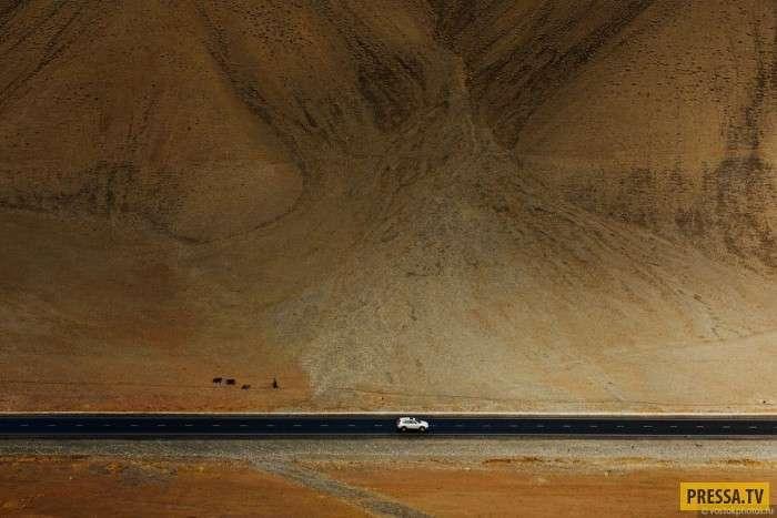 Самая красивая горная дорога: Памирский тракт (48 фото)