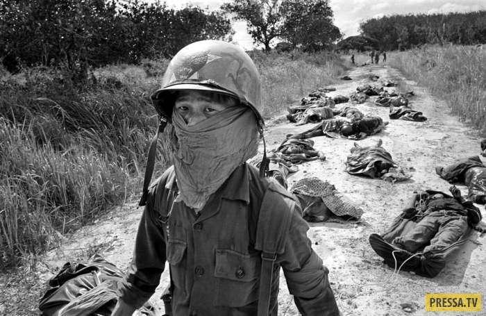 Уникальные фотографии времен войны во Вьетнаме (16 фото)
