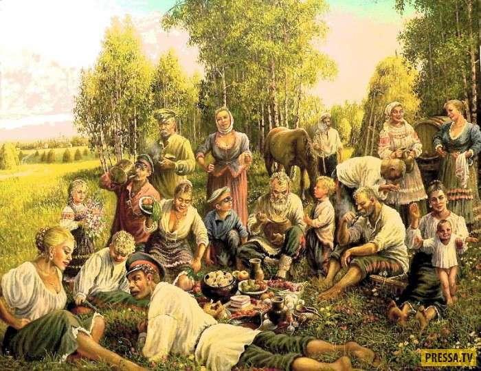 Казачьи обычаи и традиции (13 фото)