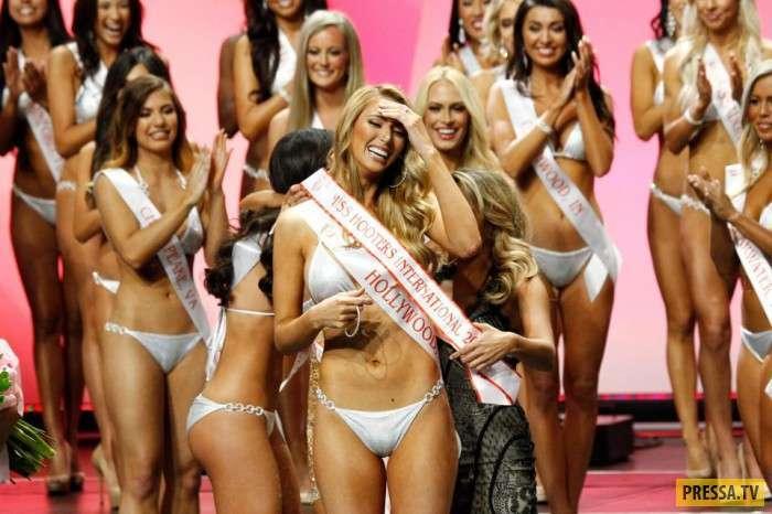 Конкурс красоты среди официанток в США (6 фото)