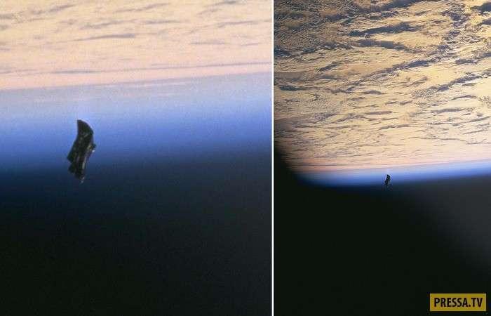 """Космические загадки: """"Черный рыцарь"""" - инопланетный спутник или космический мусор (6 фото + видео)"""