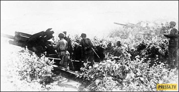 Ретро-фотографии, сделанные советскими военкорами во время советско-японской войны (16 фото)