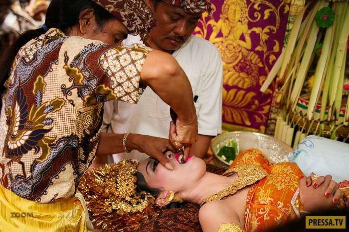 Топ 6: Самые необычные свадебные обычаи (8 фото)