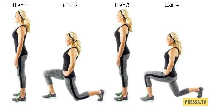 ТОП-5 простых и эффективных упражнений для борьбы с целлюлитом (5 фото)