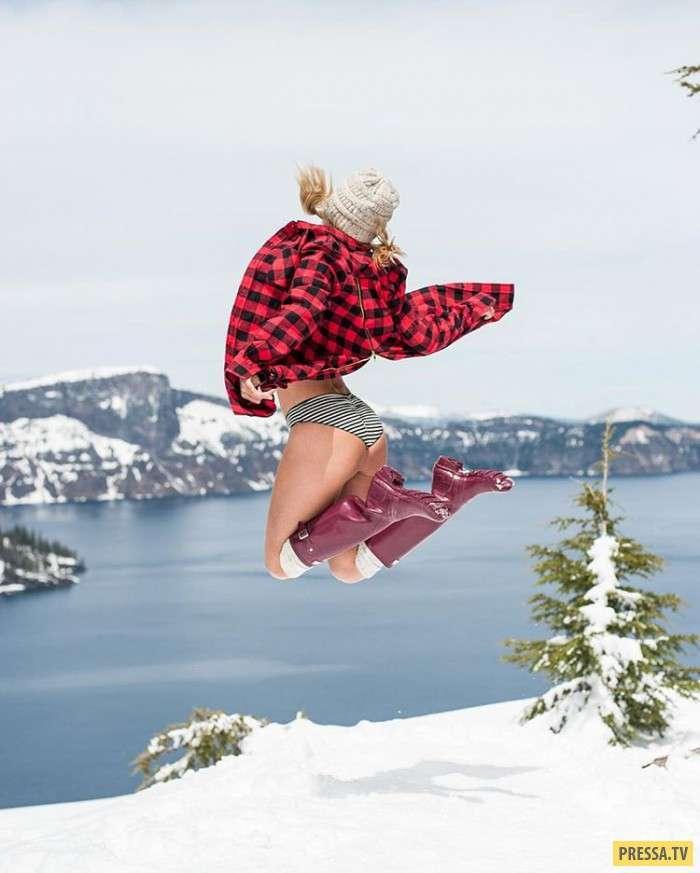 Сара Джин Андервуд красивая путешественница (19 фото)