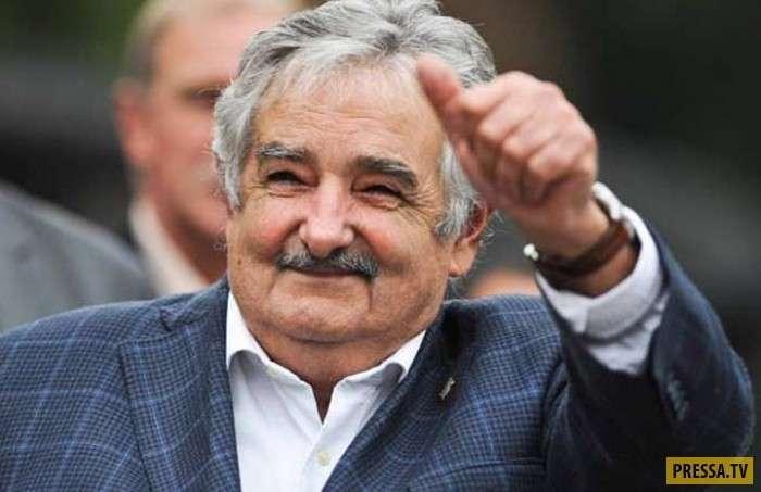 Хосе Мухика - самый бедный и самый щедрый президент (3 фото + видео)