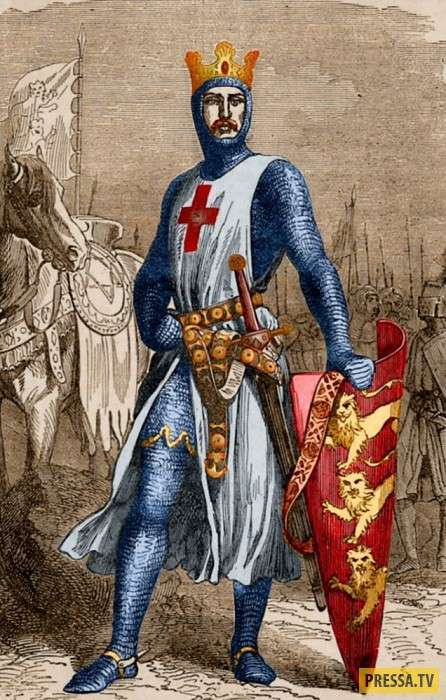 Страницы истории: За что английского короля Ричарда Первого прозвали Львиным Сердцем (7 фото)