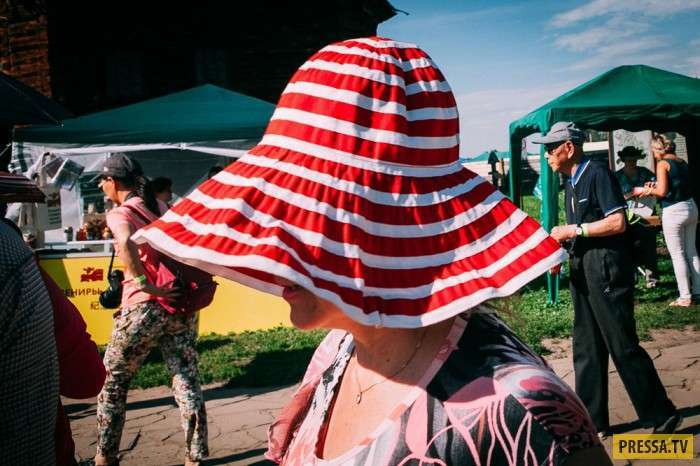 Региональный бренд - День огурца в Суздале (29 фото)