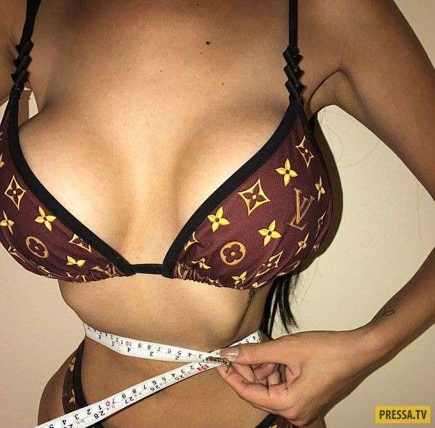 Бразильская модель потратила $500 000, чтобы выглядеть, как Ким Кардашьян (6 фото)