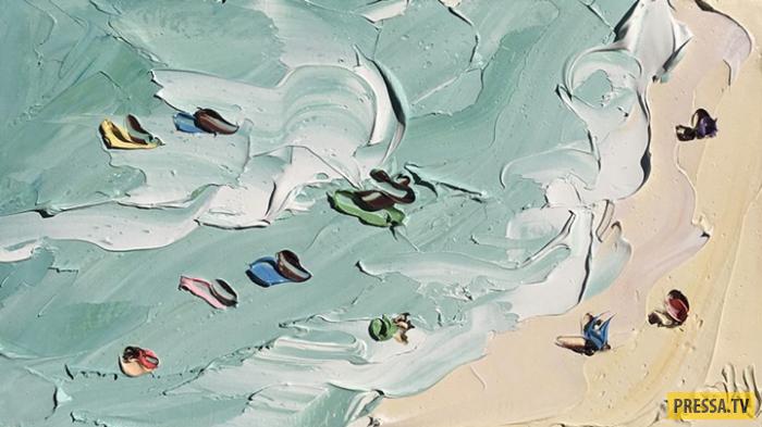 Картины Салли Вест, после которых захочется на море (10 фото)