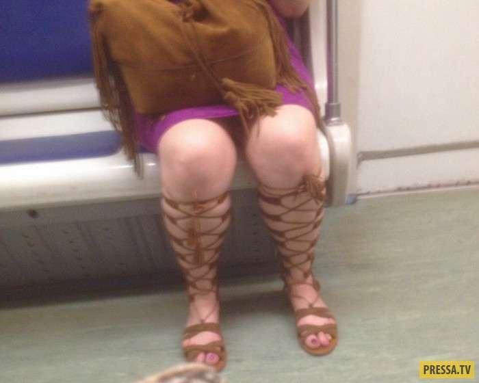Модные граждане из российского метро (40 фото)