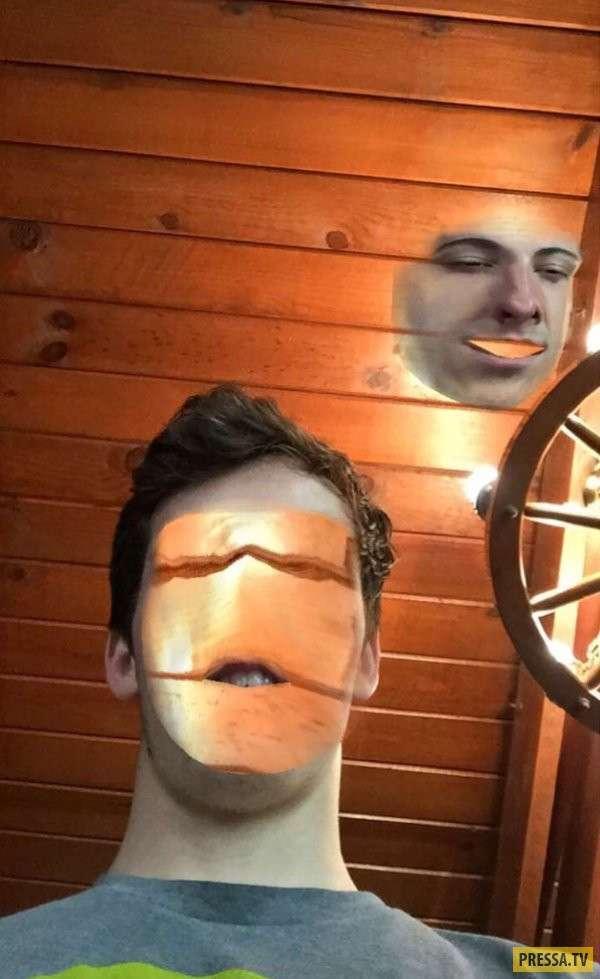 Самые странные замены лица через face-swap (40 фото)