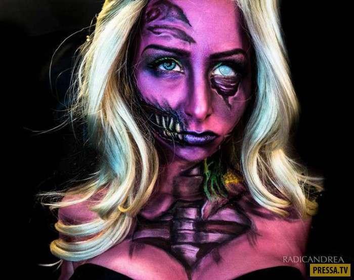Что можно сотворить со своей внешностью с помощью обычных красок (22 фото)