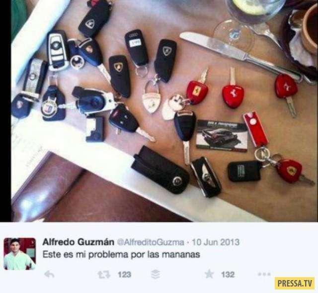 Дети мексиканских наркобаронов показывают моменты своей роскошной жизни (27 фото)