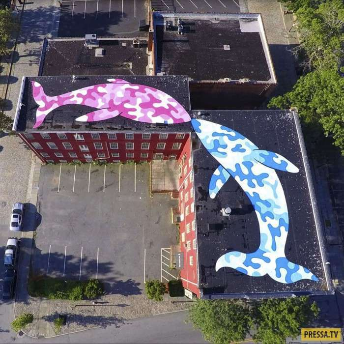 Художник из США превращает улицы Нью-Йорка в крутые стрит-арты! (15 фото)
