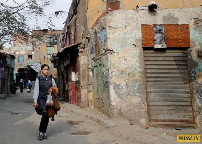 Интересные моменты жизни людей в Египте (30 фото)