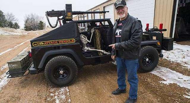 Американец планирует собрать самую большую коллекцию оружия в мире