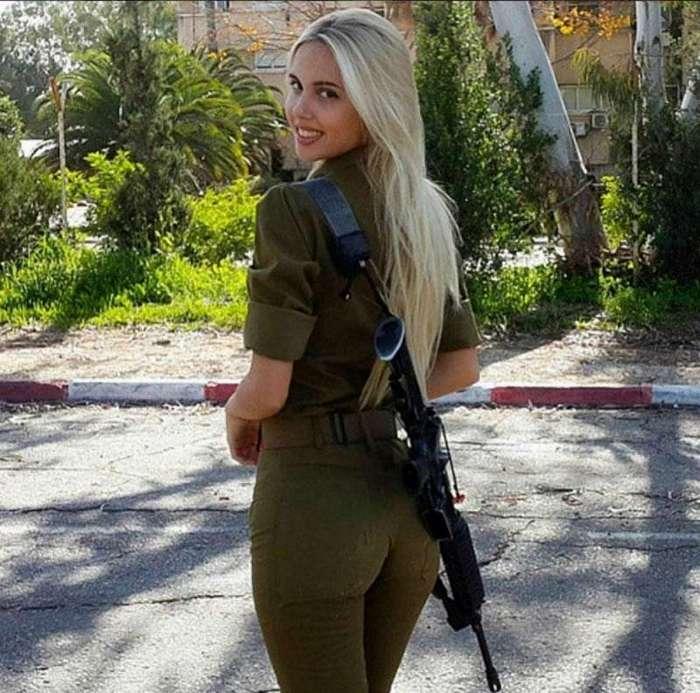 30 красавиц, которые служат в израильской армии.