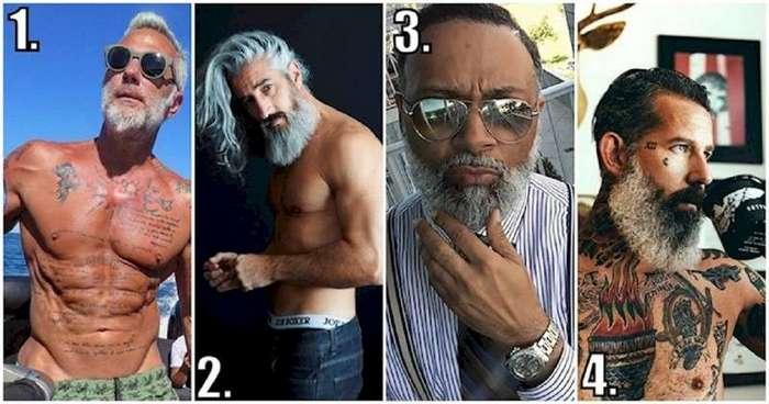 Эти дедушки дадут фору парням-моделям! (16 фото)