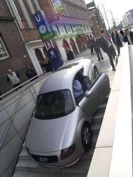 Неудачи автолюбителей (40 фото)