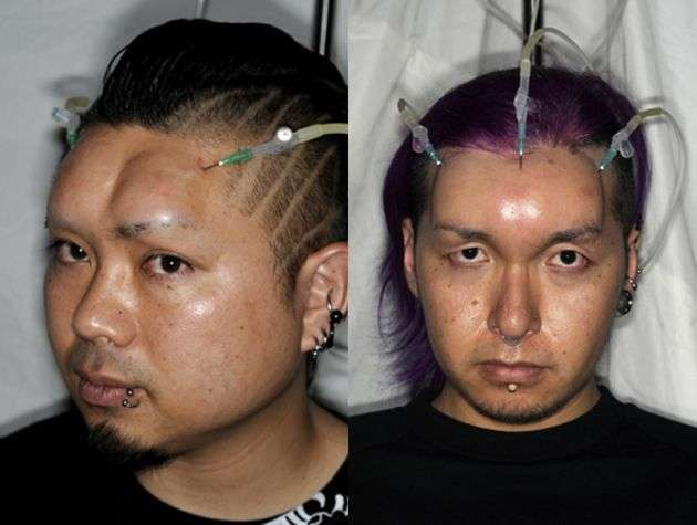 Японские надувные головы (5 фото)