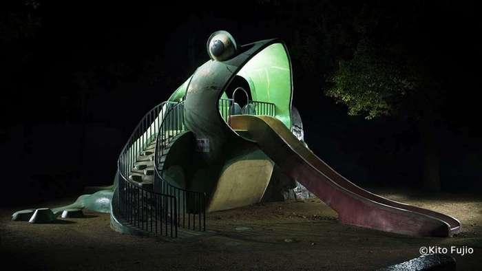 Странные и очень забавные детские площадки в Японии, объясняющие, почему японцы такие (23 фото)