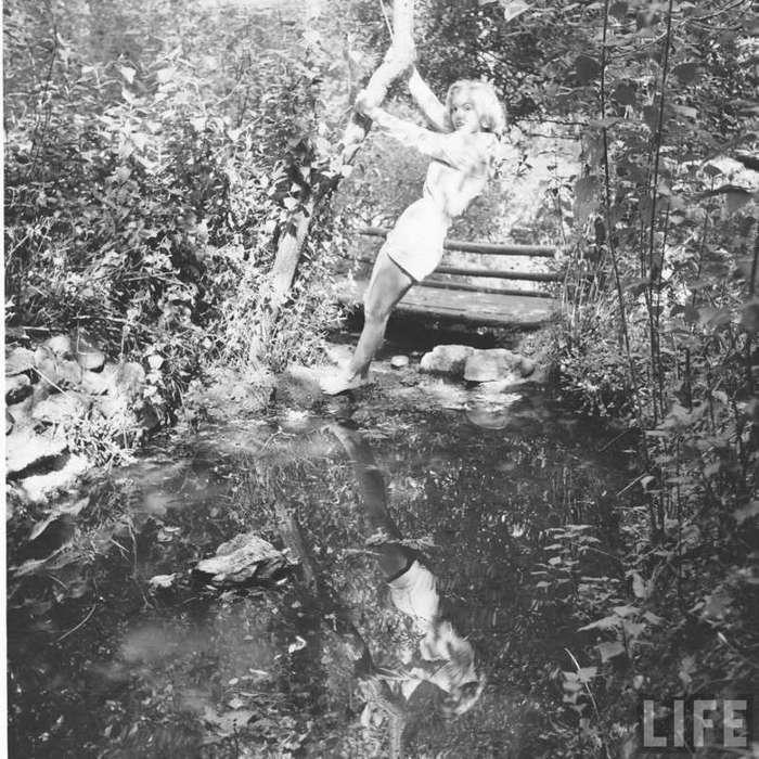 Мэрилин Монро. На пороге славы (20 фото)