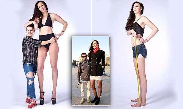 Длинноногая модель из Пензы идет на рекорд (17 фото)