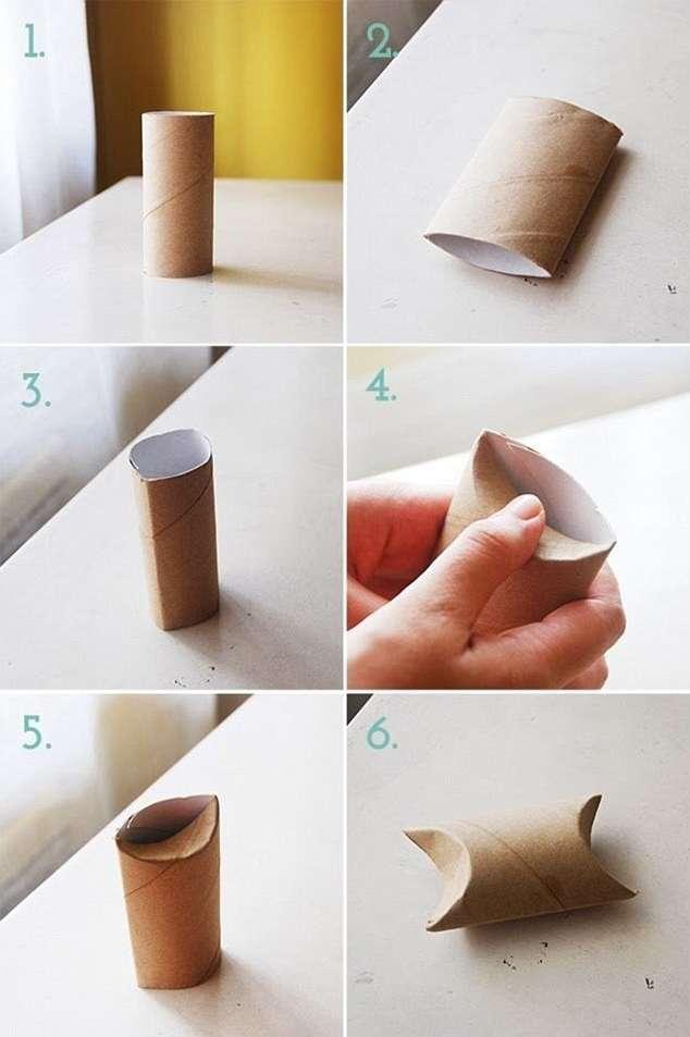 Сделай сам: 12 примеров использования втулок от туалетной бумаги (13 фото)