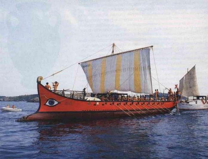 Флот Древнего Рима (23 фото + 2 видео)