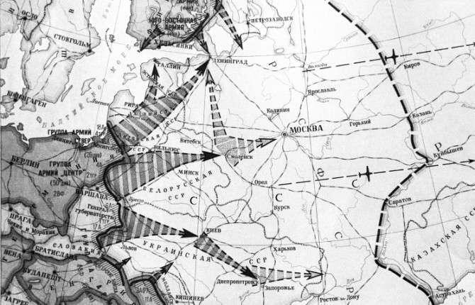 Из учебников по истории разных стран мира: нападение Германии на СССР (2 фото)