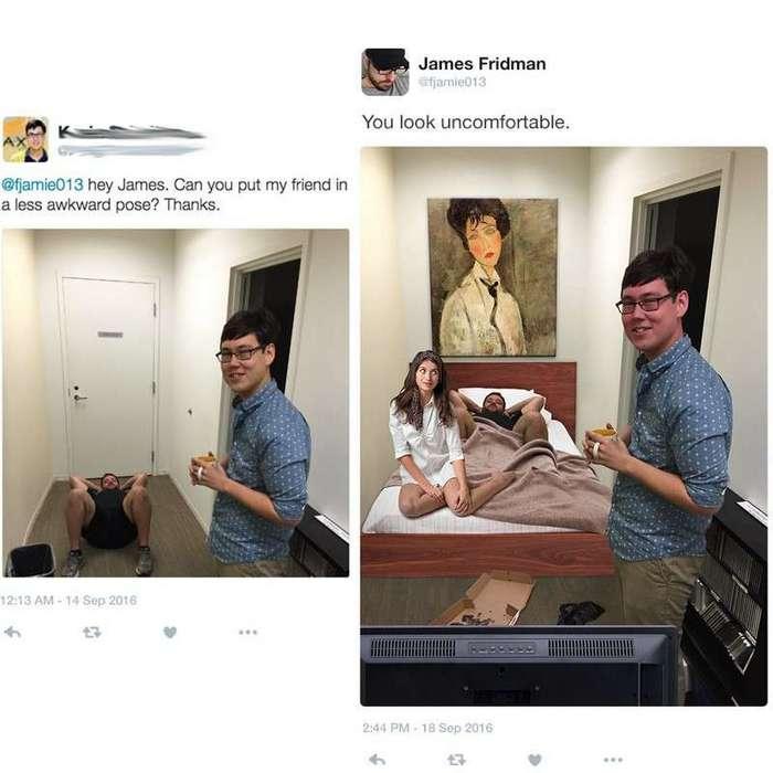 Не того парня вы помочь с фотошопом попросили (19 фото)
