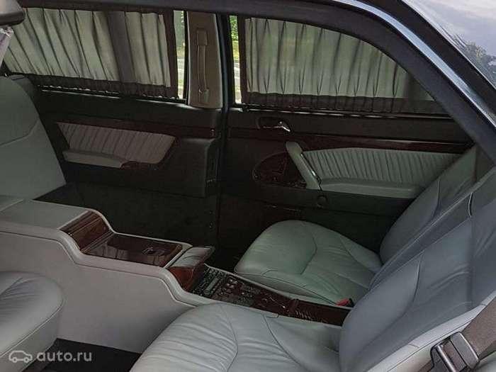 Президентский Pullman Бориса Ельцина выставили на продажу 500 тысяч евро (2 фото + 2 видео)