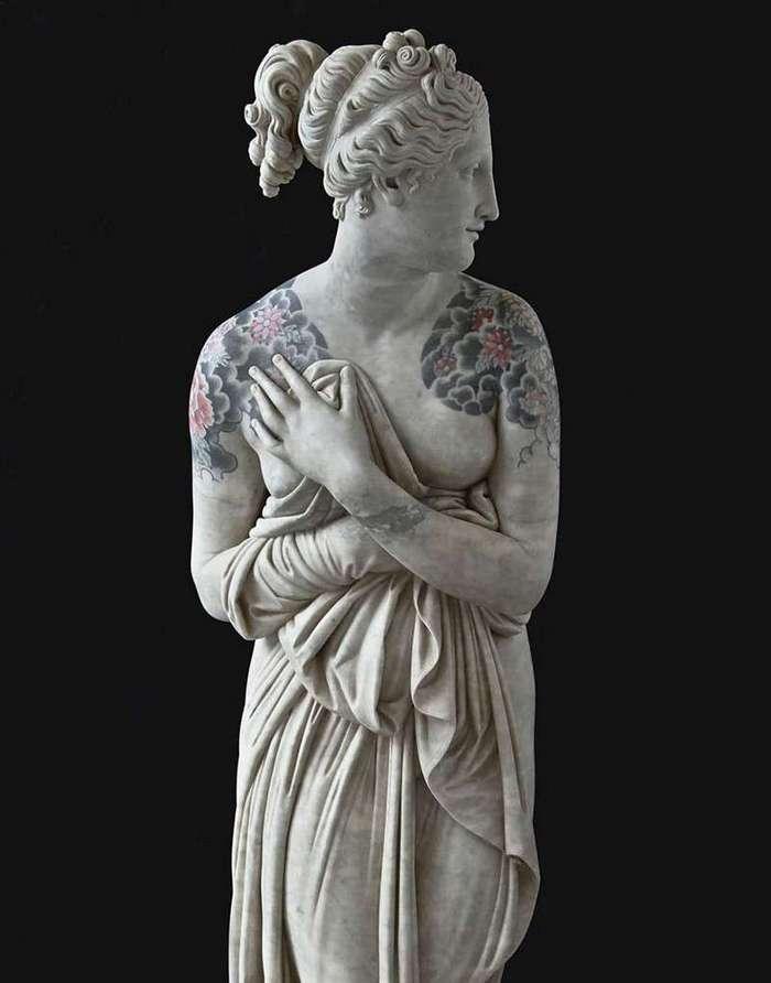Венера Милосская в законе (10 фото)