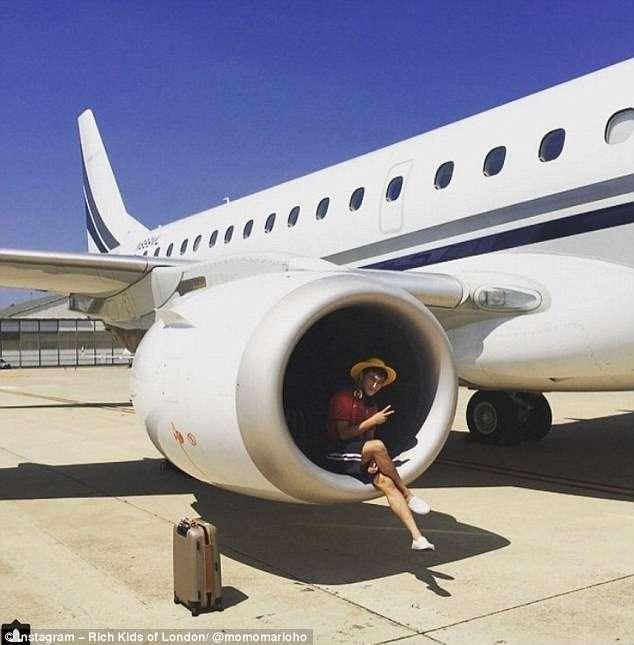 Богатые детки Лондона хвалятся роскошными летними каникулами (19 фото)