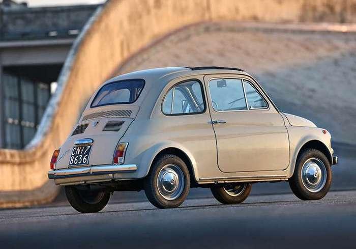 Fiat 500 признали произведением искусства (3 фото)