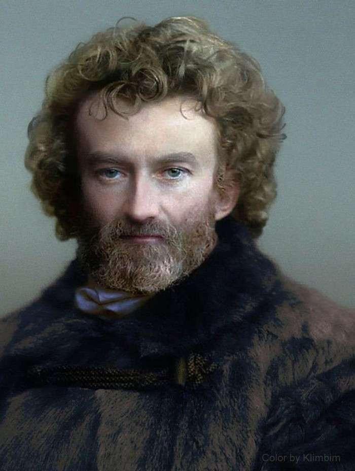Известные и неизвестные люди из прошлого. Фантастические ретро-фотографии в цвете (22 фото)