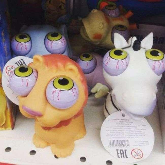 Странные игрушки (19 фото)