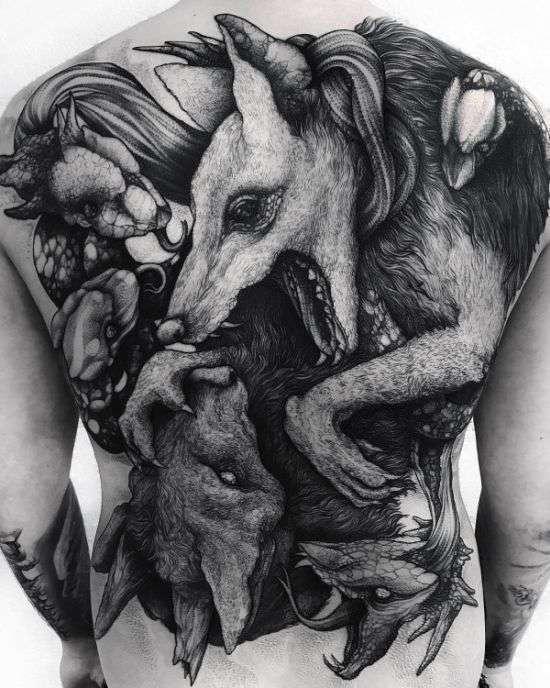 Татуировки, как искусство (15 фото)