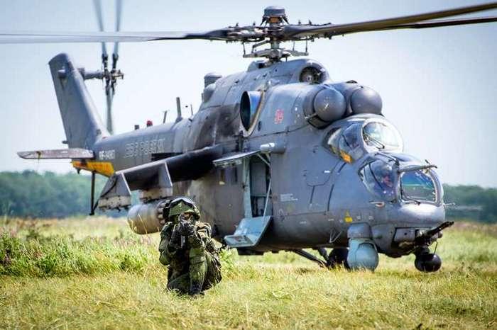 -Летающая БМП- Ми-35М (19 фото)