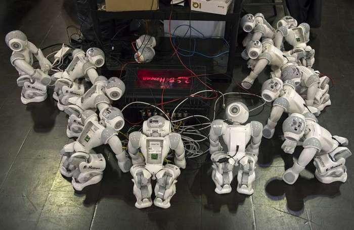 Из жизни роботов (21 фото)