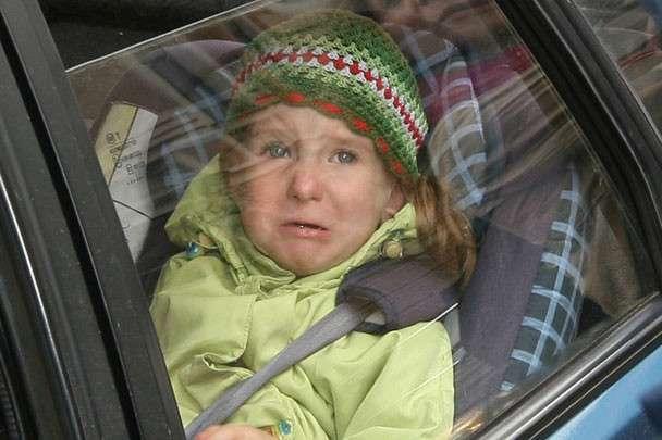 Детей запретили оставлять одних в машине (1 фото)