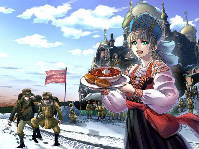 Японцы о русских (8 фото)
