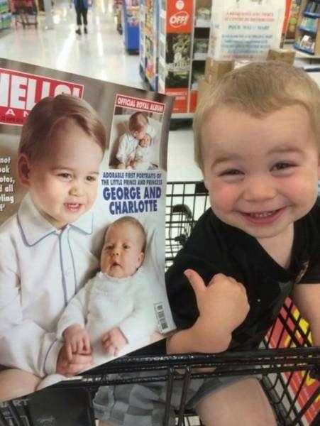 Маленькие и очаровательные двойники знаменитостей (11 фото)