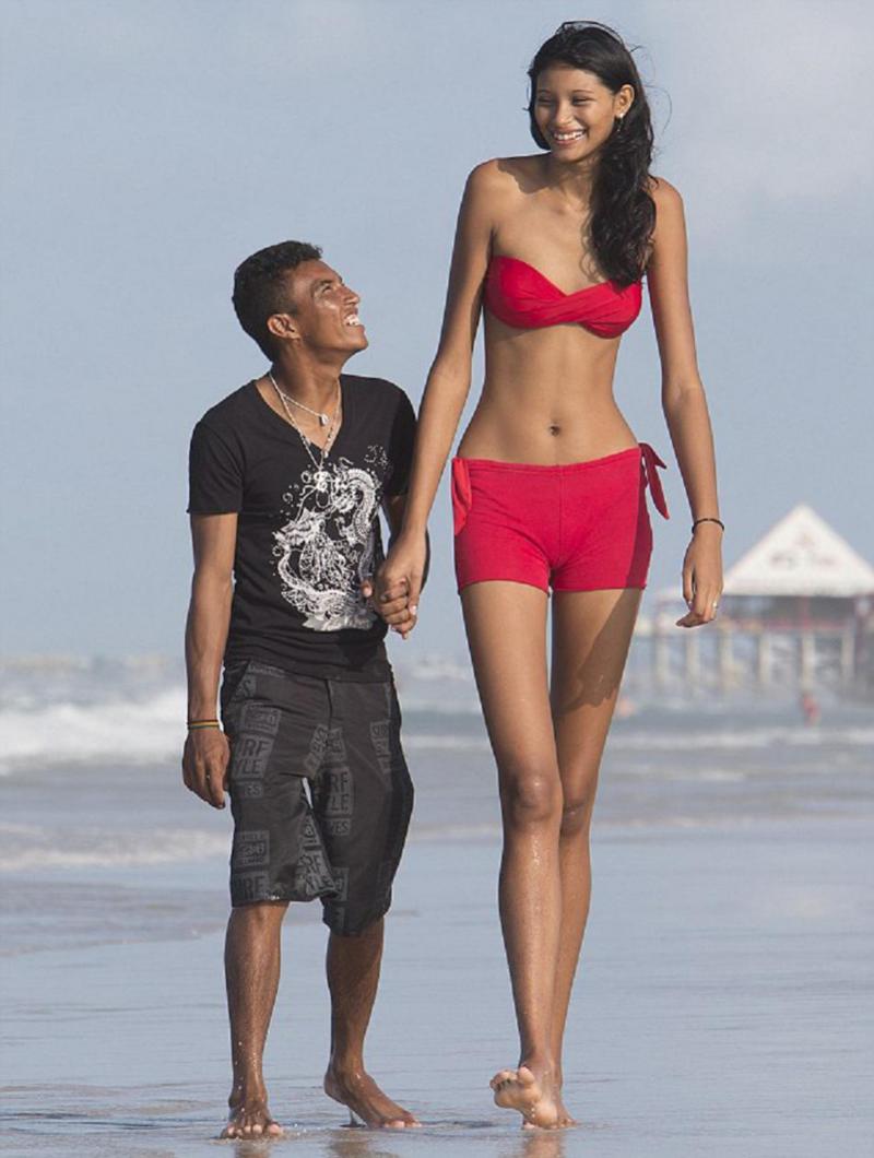 19 пар, доказывающих, что противоположности притягиваются (19 фото)