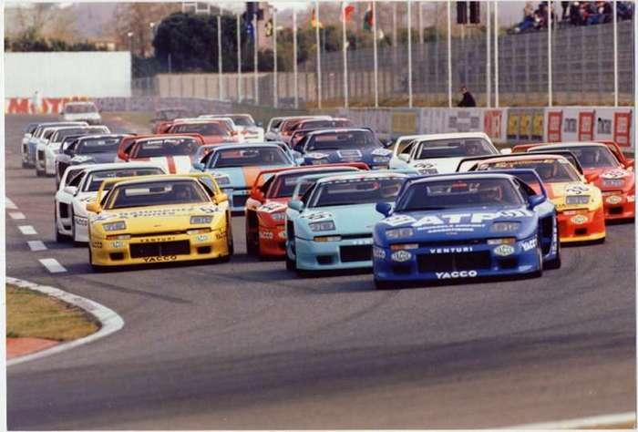 История французских спорткаров Venturi (20 фото)