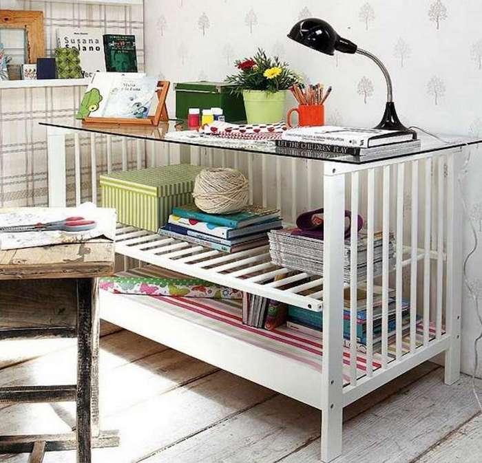 8 идей по переделке детской кроватки. Вторая жизнь старой вещи! Чёрт побери